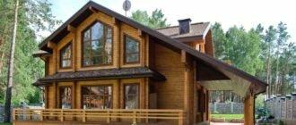 Дом из дерева и особенности жизни в нем